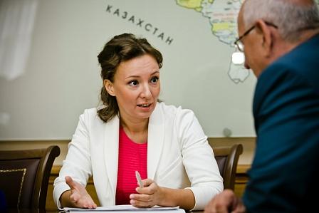 В Оренбург прибыла уполномоченный по правам ребенка при Президенте России Анна Кузнецова