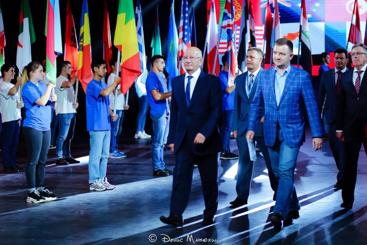 Открытие международного молодежного образовательного форума «Евразия»