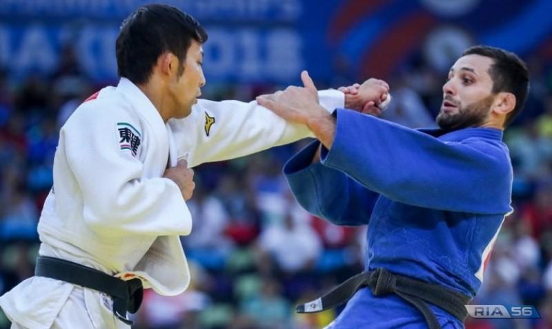 Оренбуржец Роберт Мшвидобадзе стал серебряным призером чемпионата мира по дзюдо