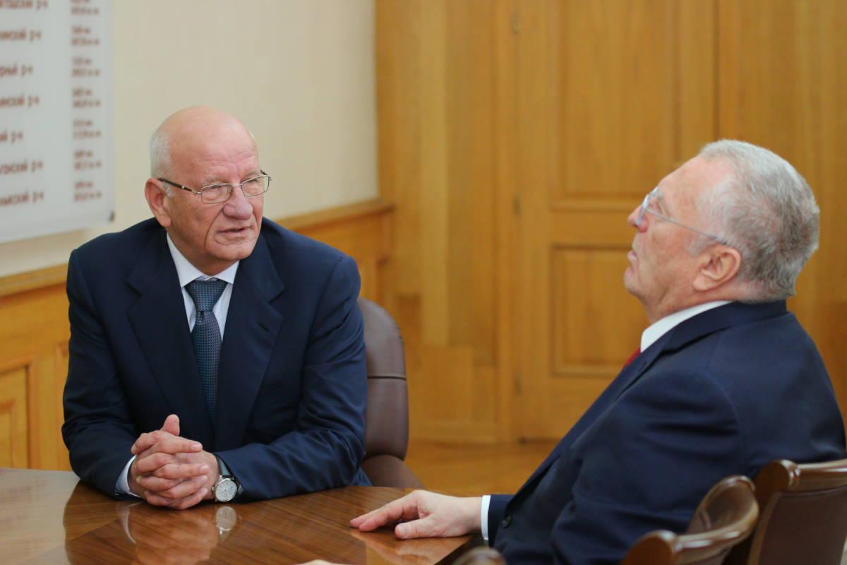 Жириновский и Берг