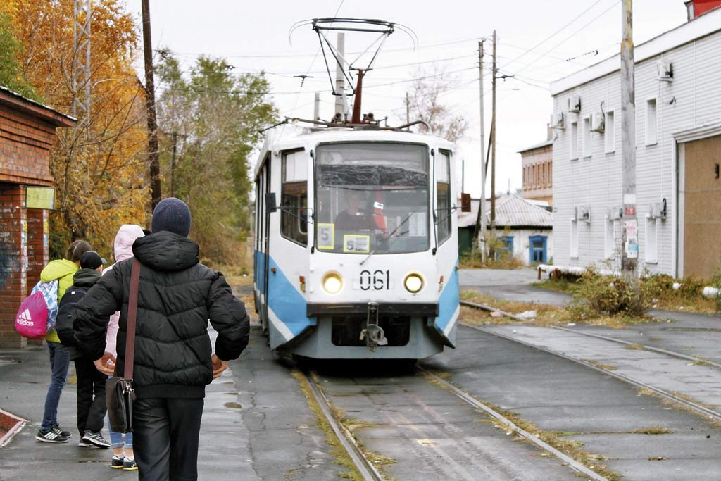Трамвай не остановился
