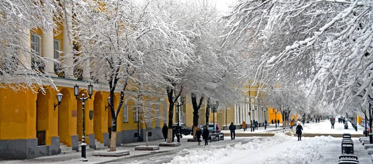 Спецтехника не справляется со снегом
