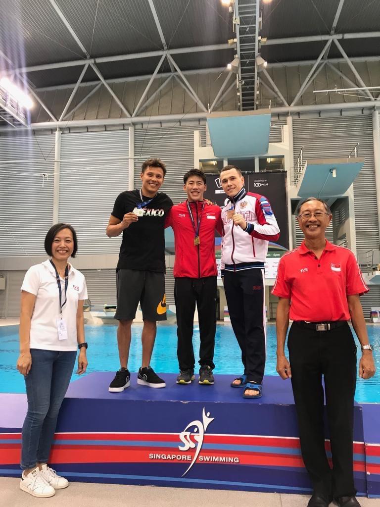 У Сергея Назина — золото Гран-при по прыжкам в воду