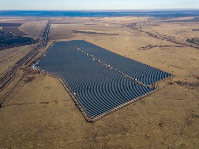Т Плюс запускает крупнейшую солнечную электростанцию