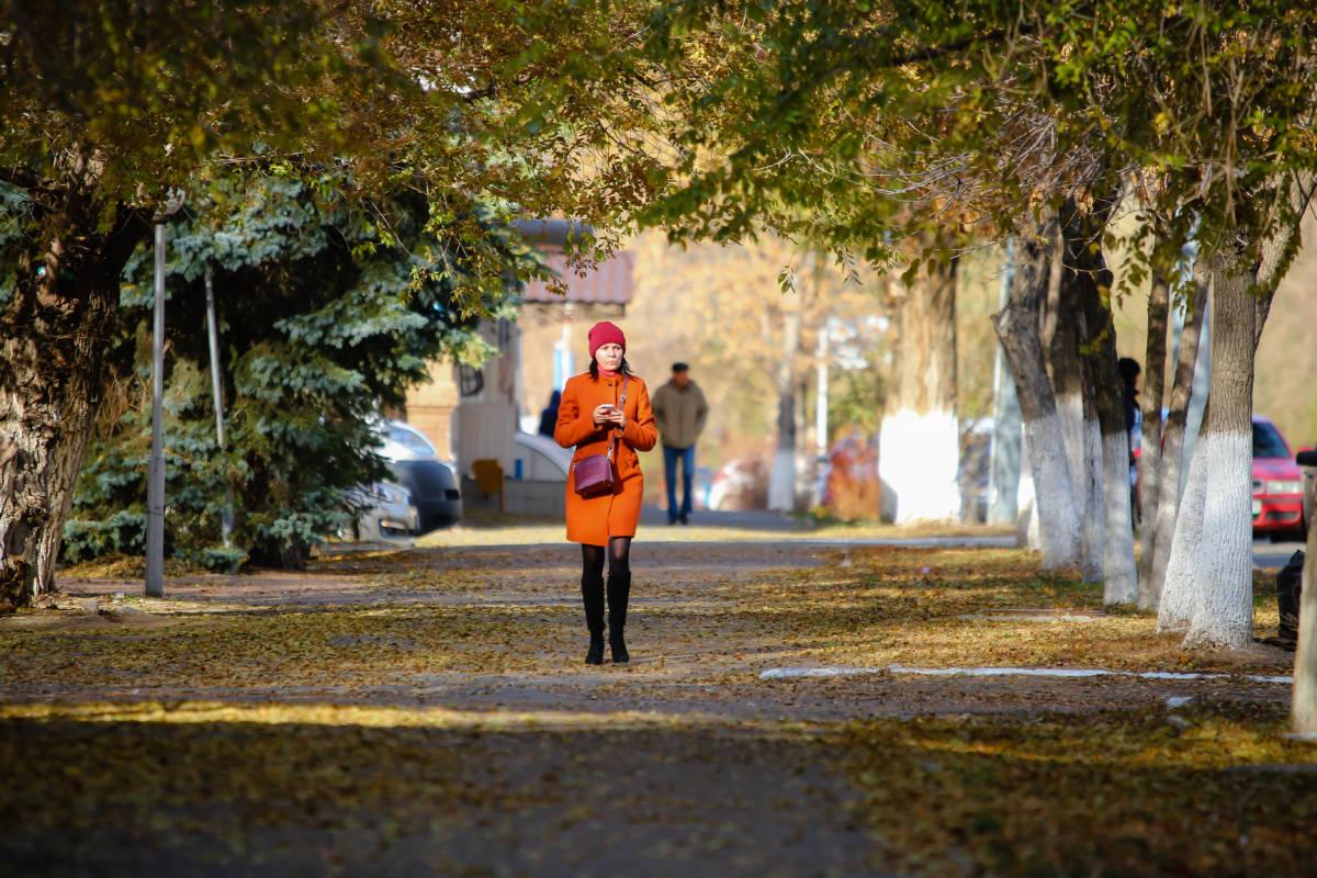Осень в Оренбурге