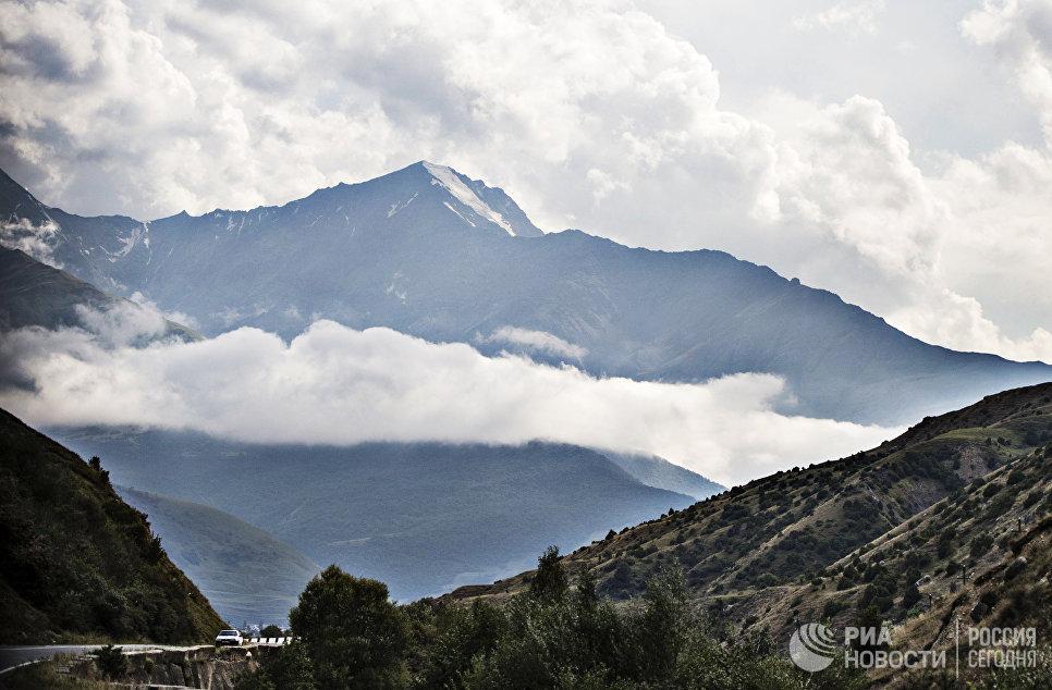 Гора Александр Прохоренко  в Северной Осетии
