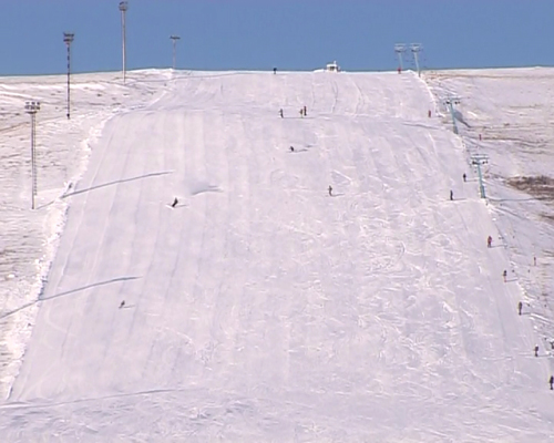 В Кувандыке открыли горнолыжный сезон