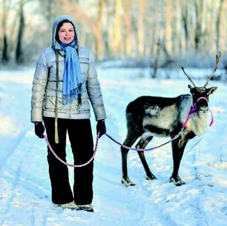 Хозяйка пропавшего оленя рассказала о своем бизнесе