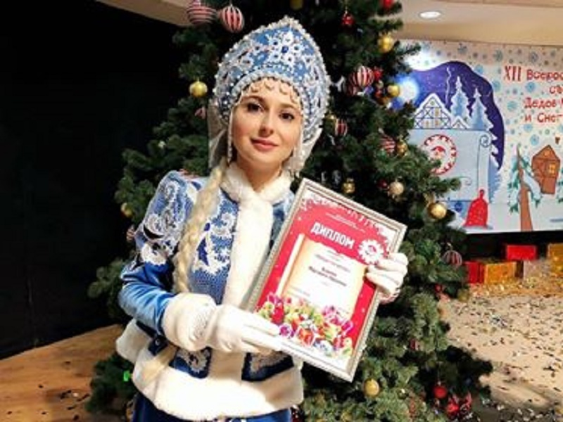 Лучшая Снегурочка живет в Оренбурге