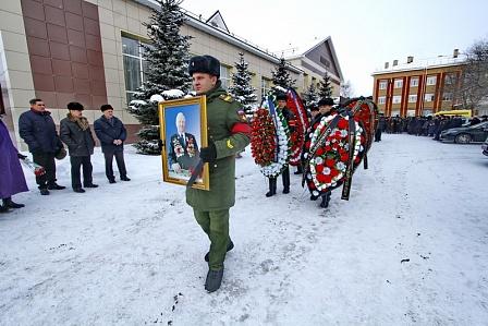 Оренбуржцы простились со знатным хлеборобом Василием Макаровичем Чердинцевым