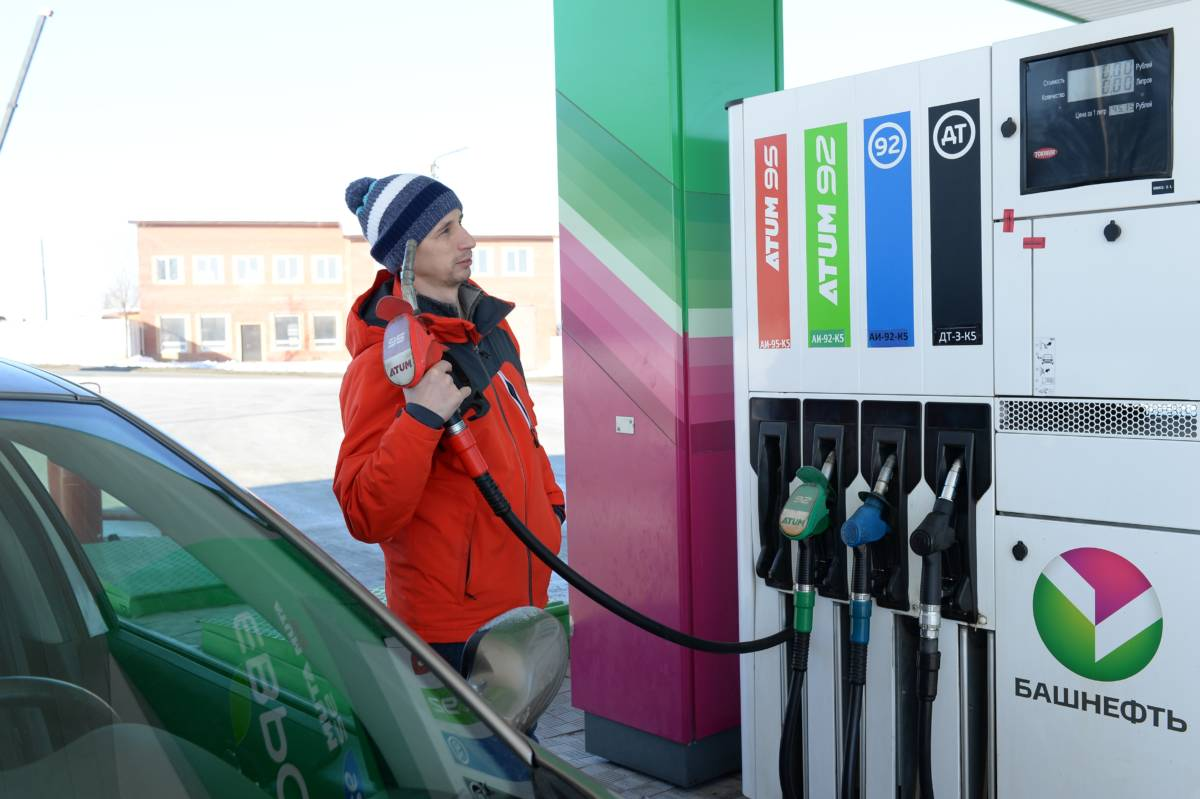 Бензин уходит, потому и дорожает