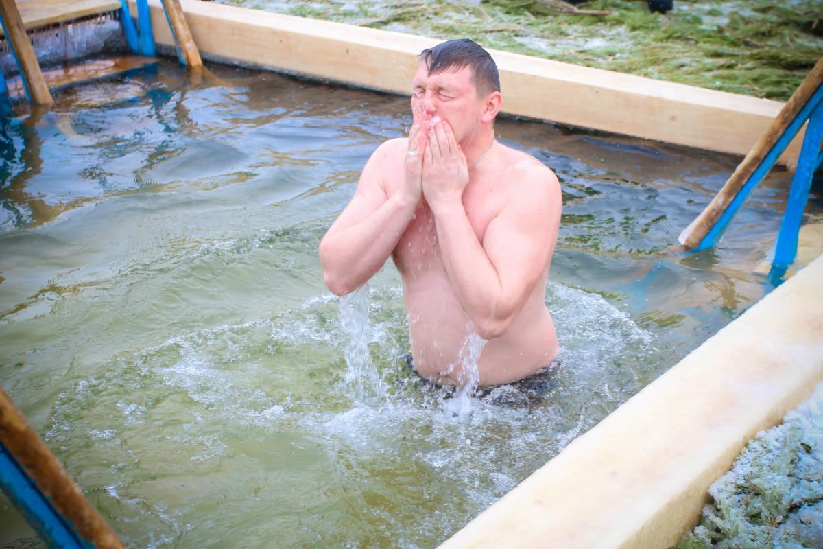 В Оренбуржье отметили праздник Крещения Господня