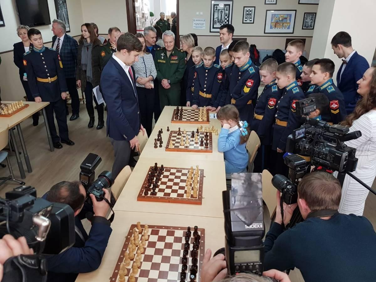Шахматный турнир с гроссмейстером