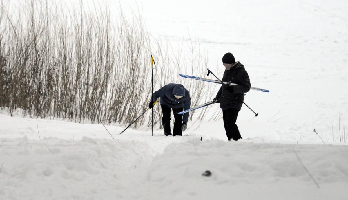 Где в Оренбуржье катаются на лыжах