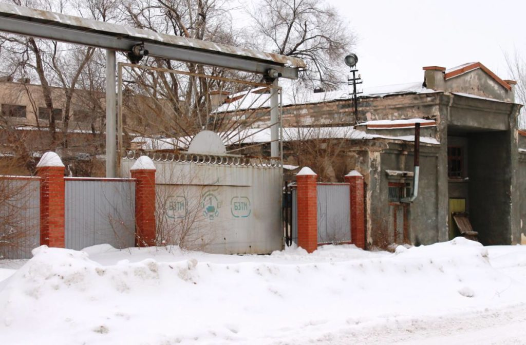 """Разрушенный завод """"Бузулуктяжмаш"""""""