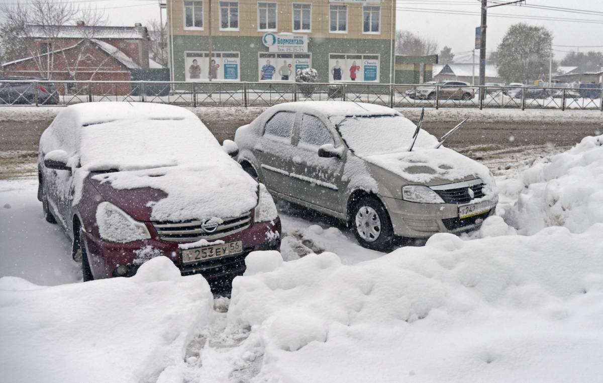 Убрать снег за шесть часов!