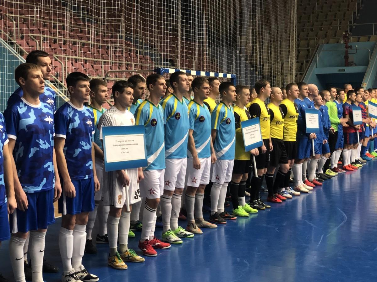 В Оренбуржье открылся чемпионат по мини-футболу ВКС России