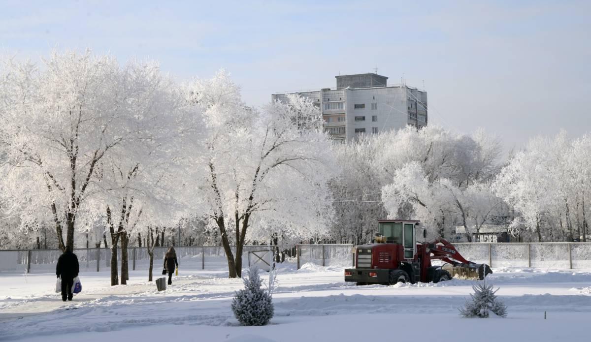 Уборка снега – в приоритете