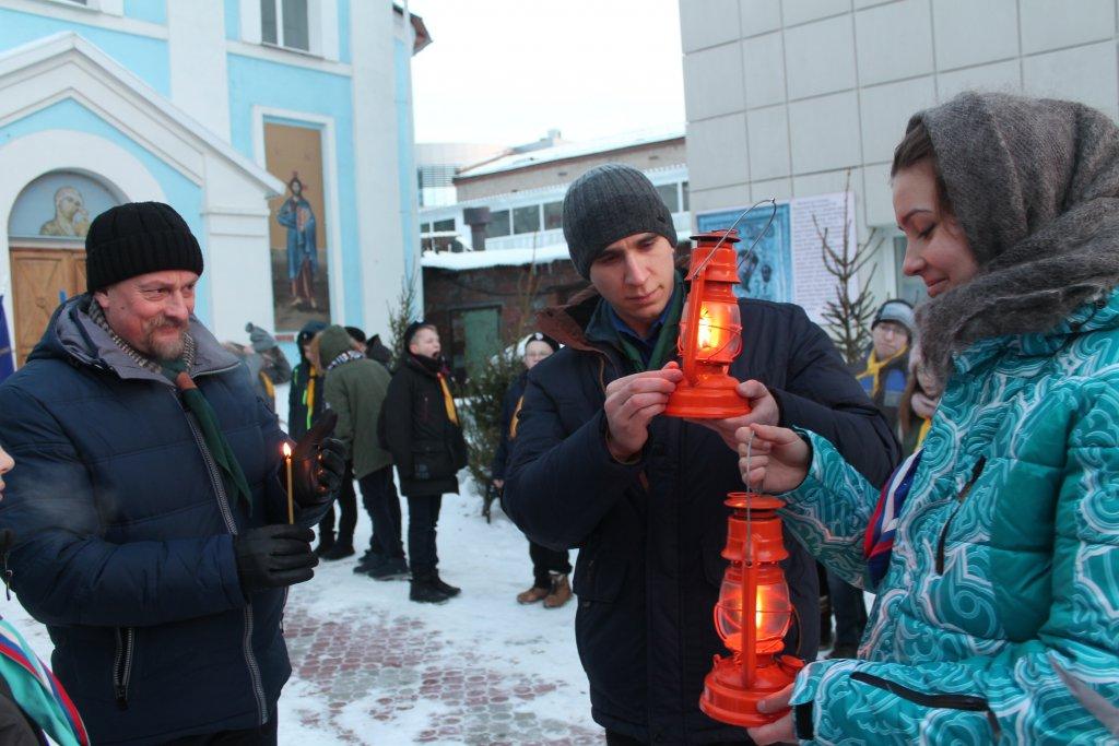 Вифлеемский огонь зажжется в Оренбурге