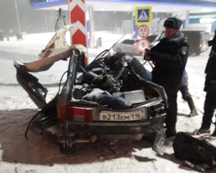 На трассе Казань — Оренбург в ДТП погибли девушка-водитель и три ее пассажирки