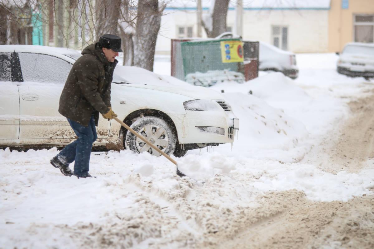 В Оренбурге введен режим ЧС
