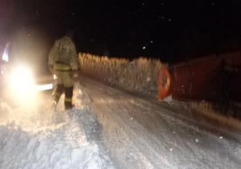 Из снежного плена под Новоорском спасли 17 человек