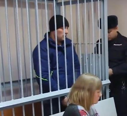Обвиняемый в нападении на охранника «Клюквы» отправился в СИЗО