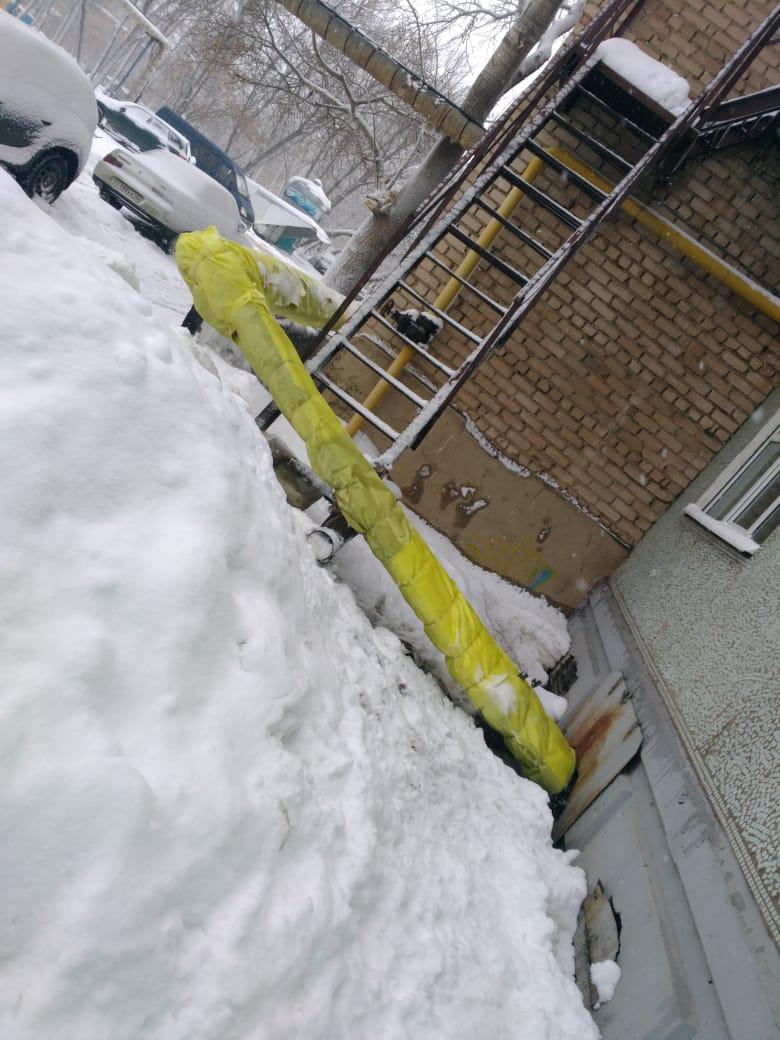 С начала января теплоэнергетики восстановили изоляцию на 73 участках тепловых сетей