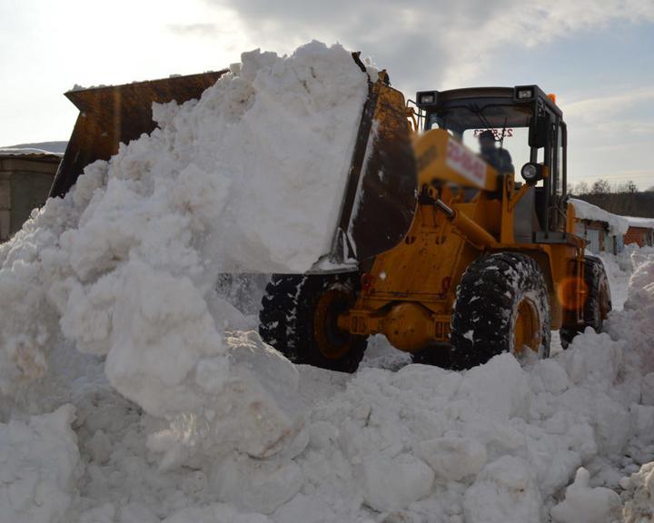 Снег из Оренбурга вывозили на незаконный полигон
