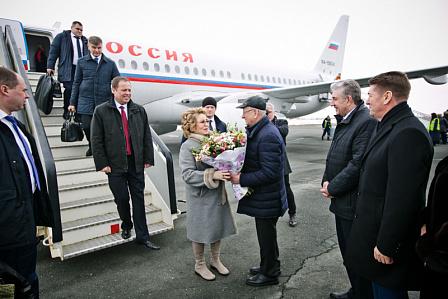 Визит Валентины Матвиенко в фотографиях