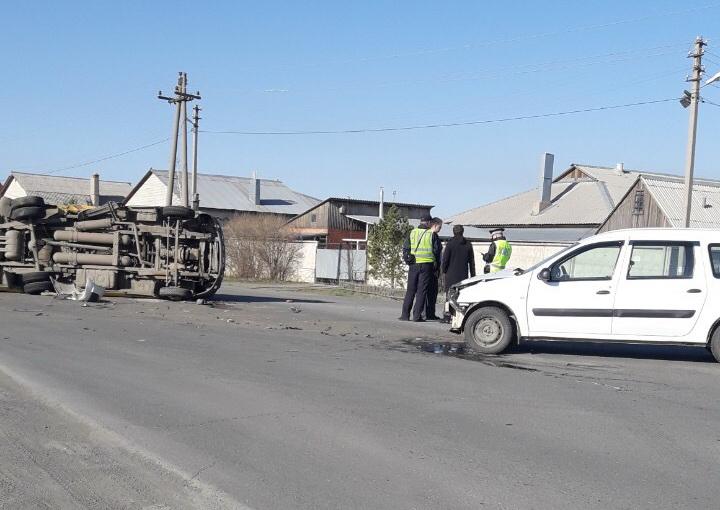 В Орске в перевернувшейся «ГАЗели» зажало пассажиров