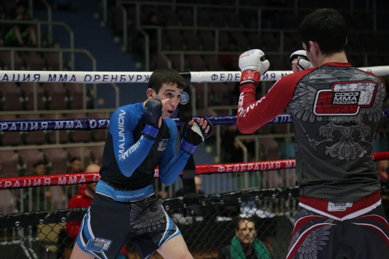 Спортсмен из Оренбуржья выиграл юниорское Первенство России по ММА