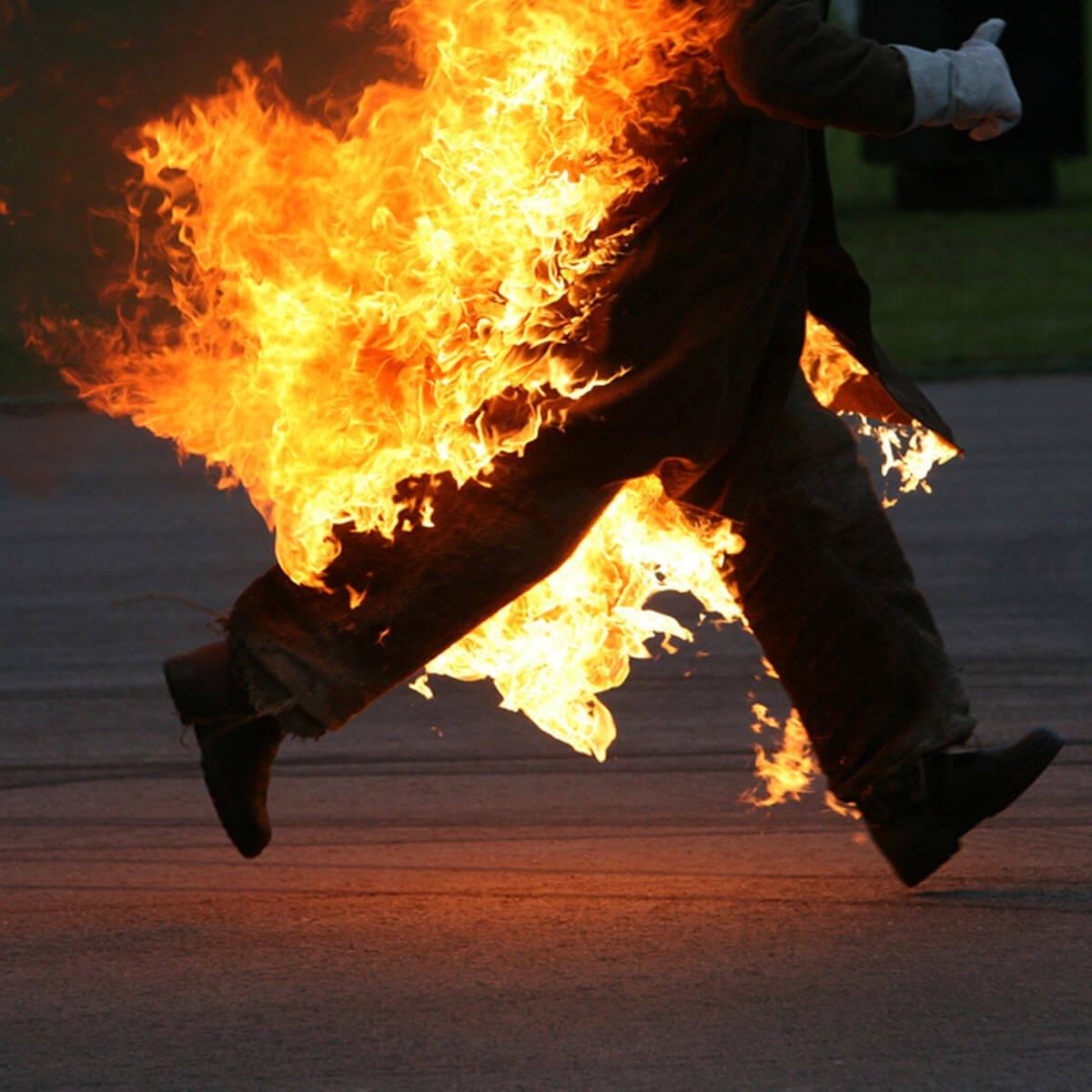 В Оренбургской области 2 человека погибли в природном пожаре