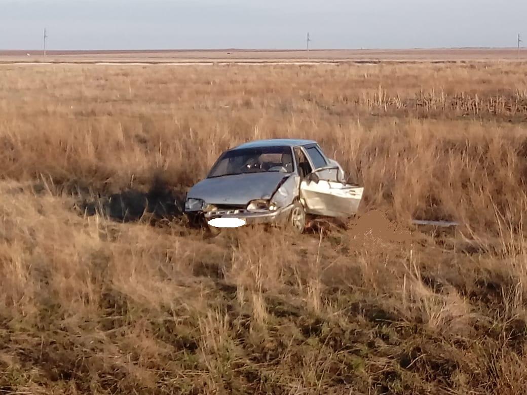 В Оренбуржье водитель скончался после того, как слетел в кювет