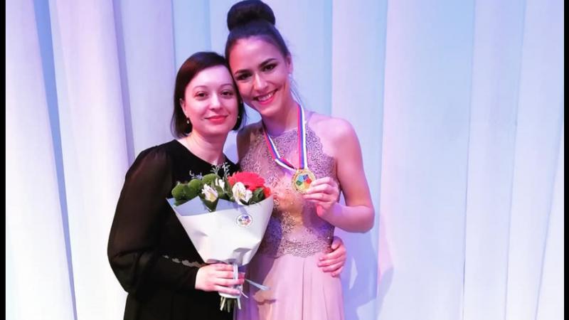 Студентка Оренбургского института искусств взяла золото молодежных Дельфийских игр