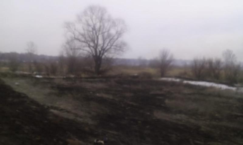 В Оренбуржье уже 15 раз горела сухая трава