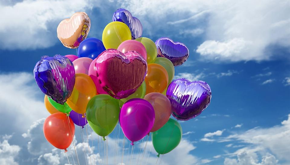 Воздушные шары фото картинки, поздравление