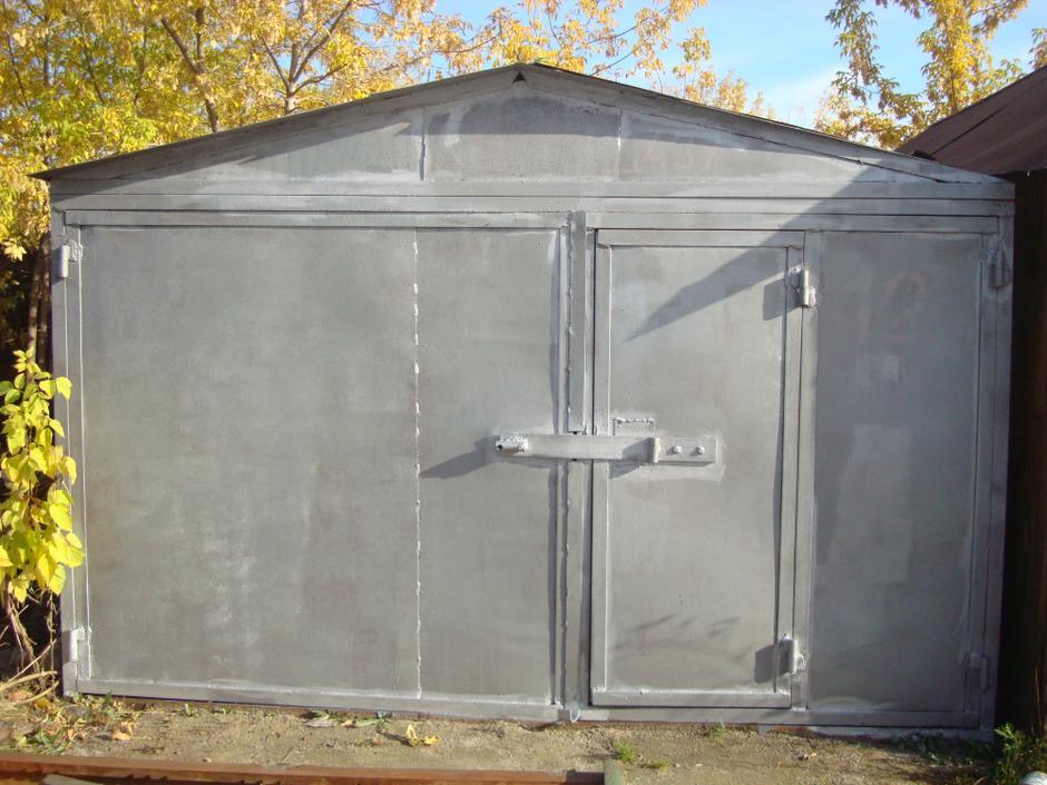 Расхититель гаражей: новотройчанин украл в Орске со двора многоэтажки железный гараж