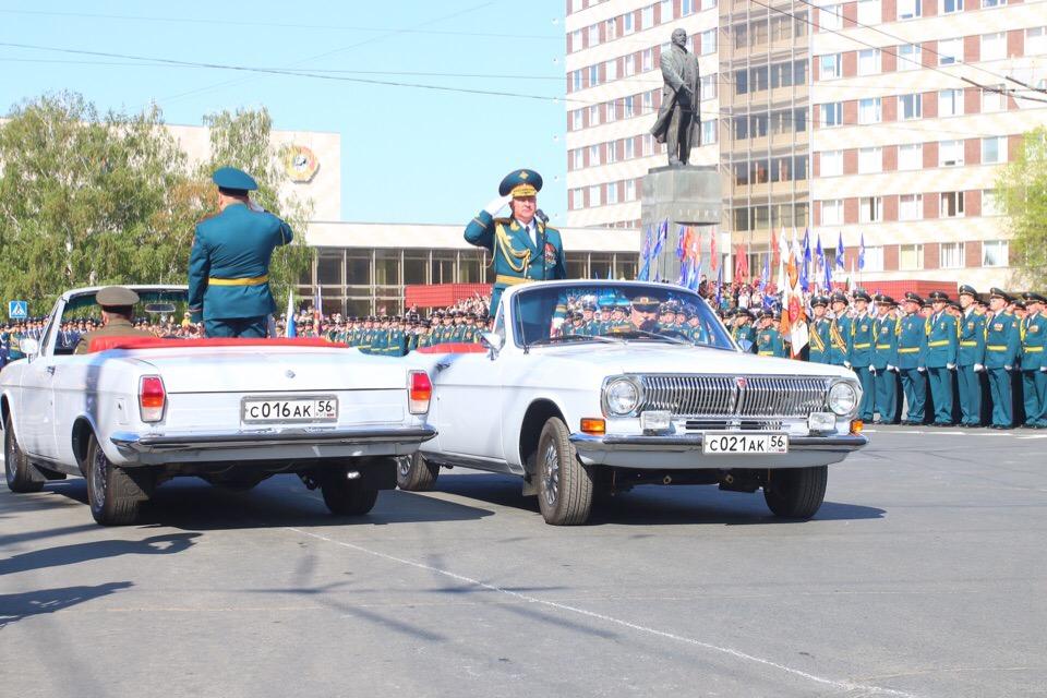 Парад Победы в Оренбурге