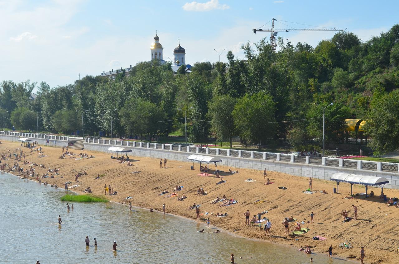 В Оренбурге готовятся к открытию два пляжа