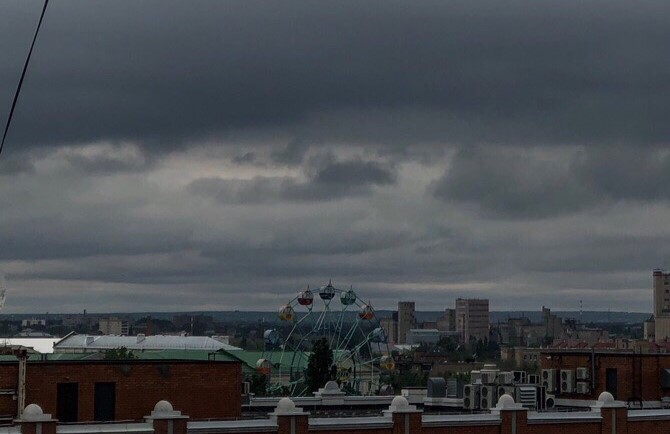 В Оренбурге в выходные ожидается гроза