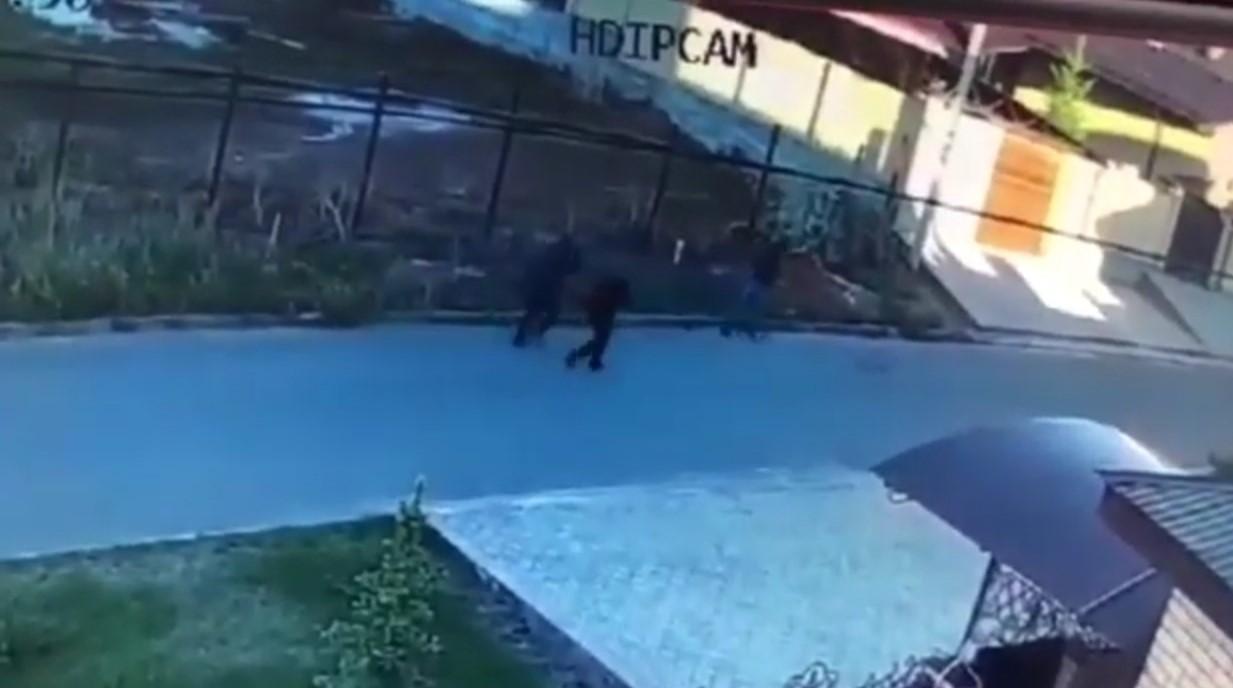 Предполагаемых убийц Андрея Бахарева запечатлела камера видеонаблюдения