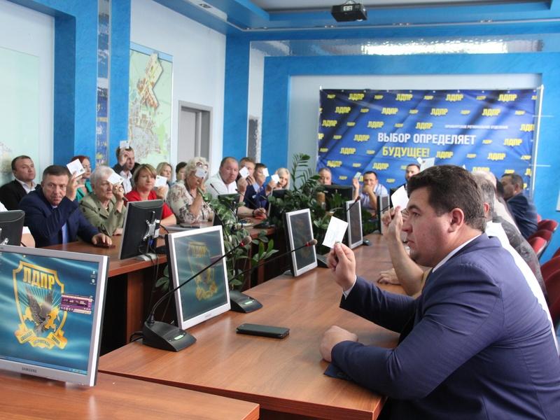 ЛДПР не станет выдвигать кандидата на выборы губернатора Оренбуржья