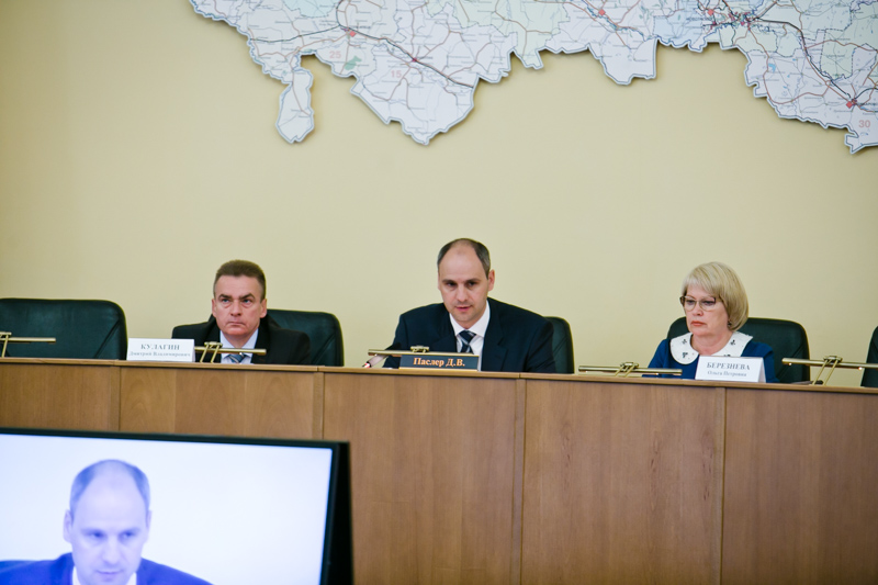 Денис Паслер встретился с депутатами Оренбургского городского совета