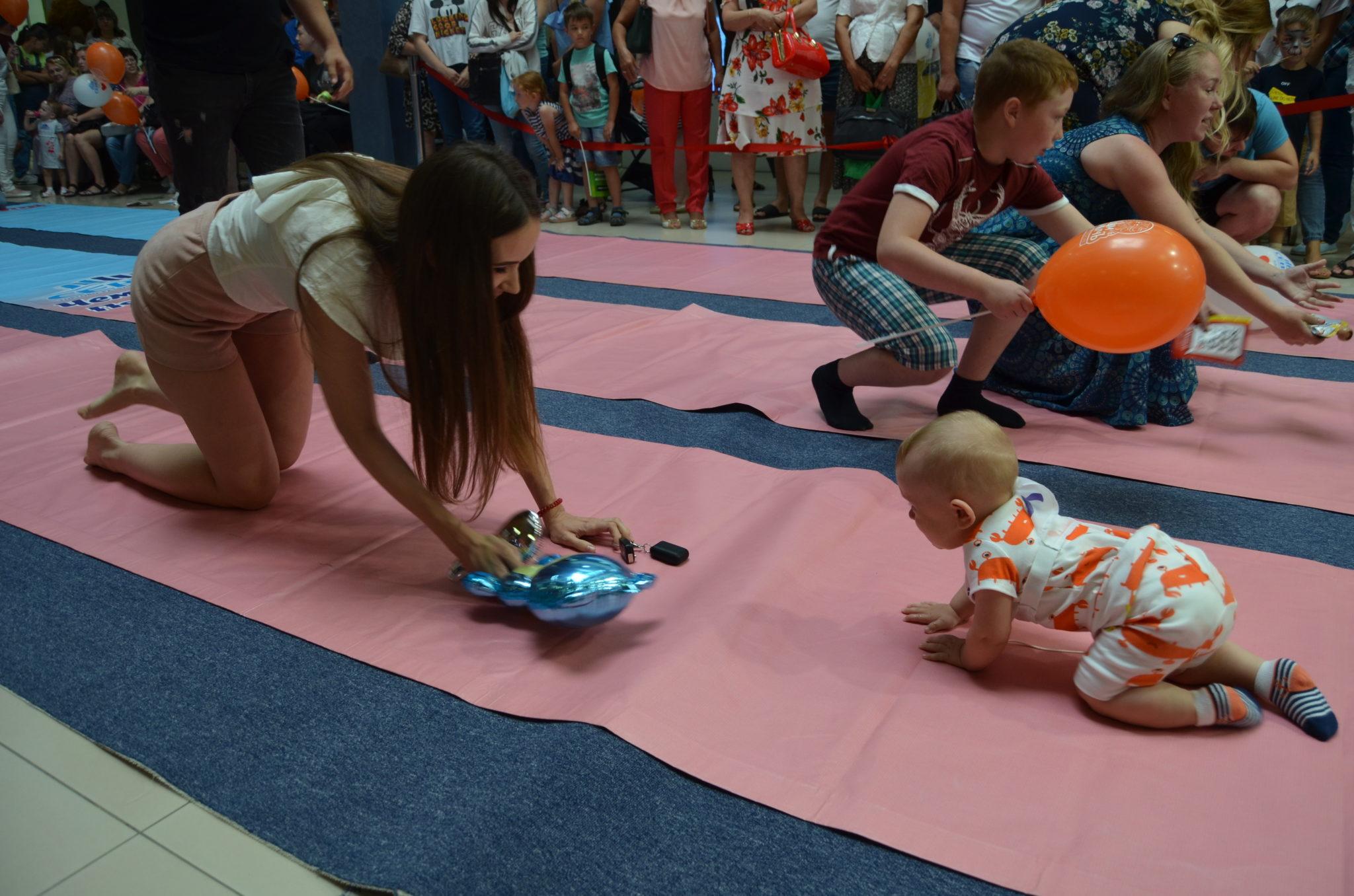 Забег для самых маленьких. Чемпионат ползунков-2019 в Оренбурге