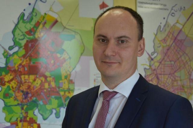 Главный архитектор Оренбурга официально приступил к своей работе