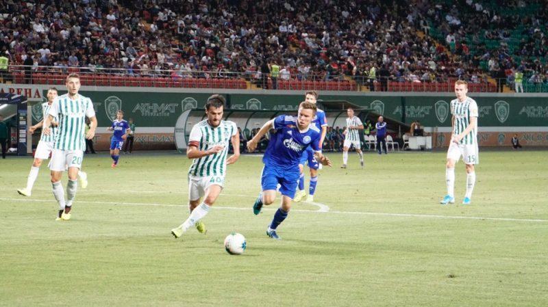 ФК «Оренбург» оказался на последнем месте в турнирной таблице после поражения «Ахмату»