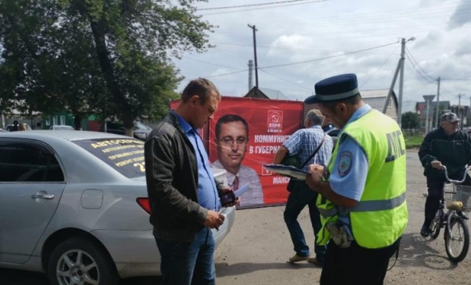 Водитель пытался задавить депутата Оренбургского городского совета Дениса Батурина