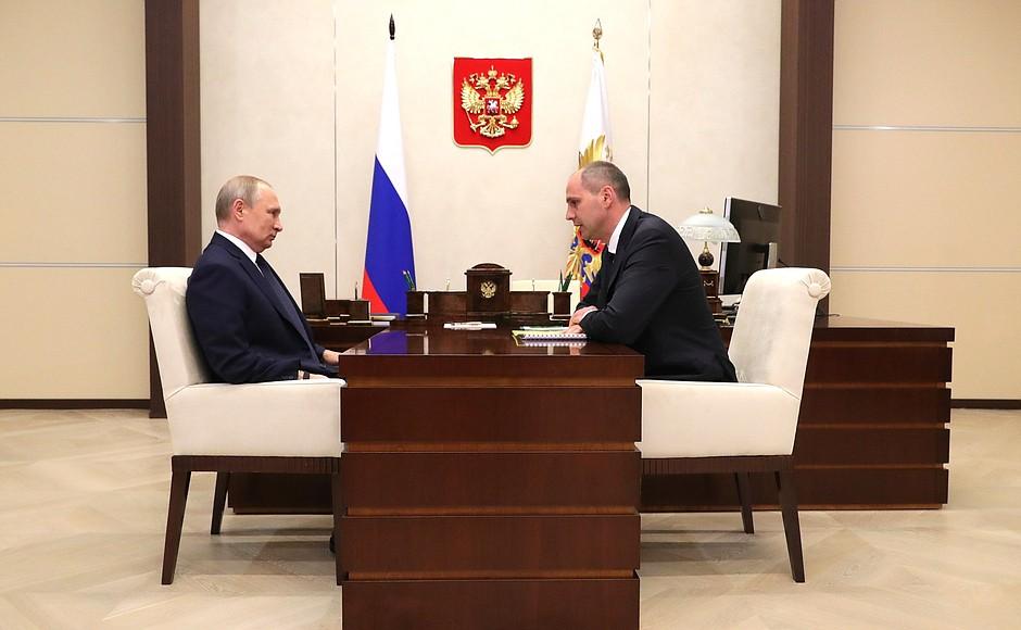Владимир Путин снова встретится с губернатором Оренбуржья