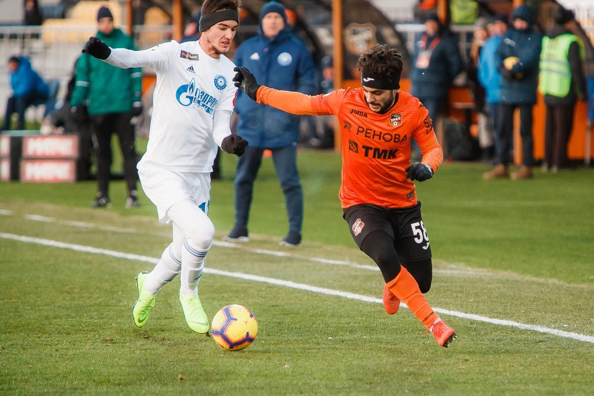 РПЛ: «Оренбург» завершит первый круг матчем с «Уралом»